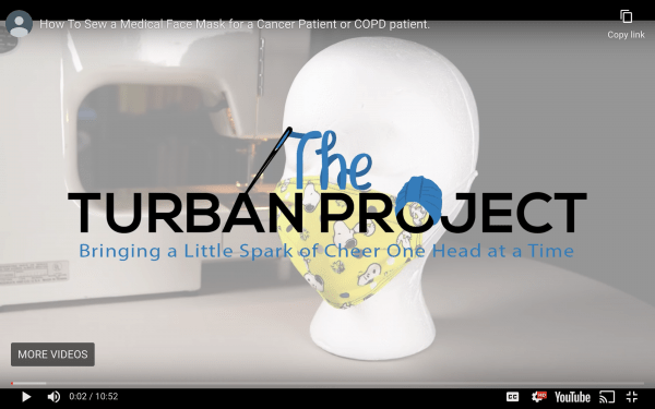 The Turban Project Face Mask