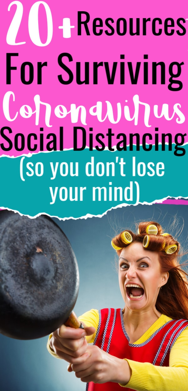 20+ Resources for Surviving Coronavirus Social Distancing via @clarkscondensed