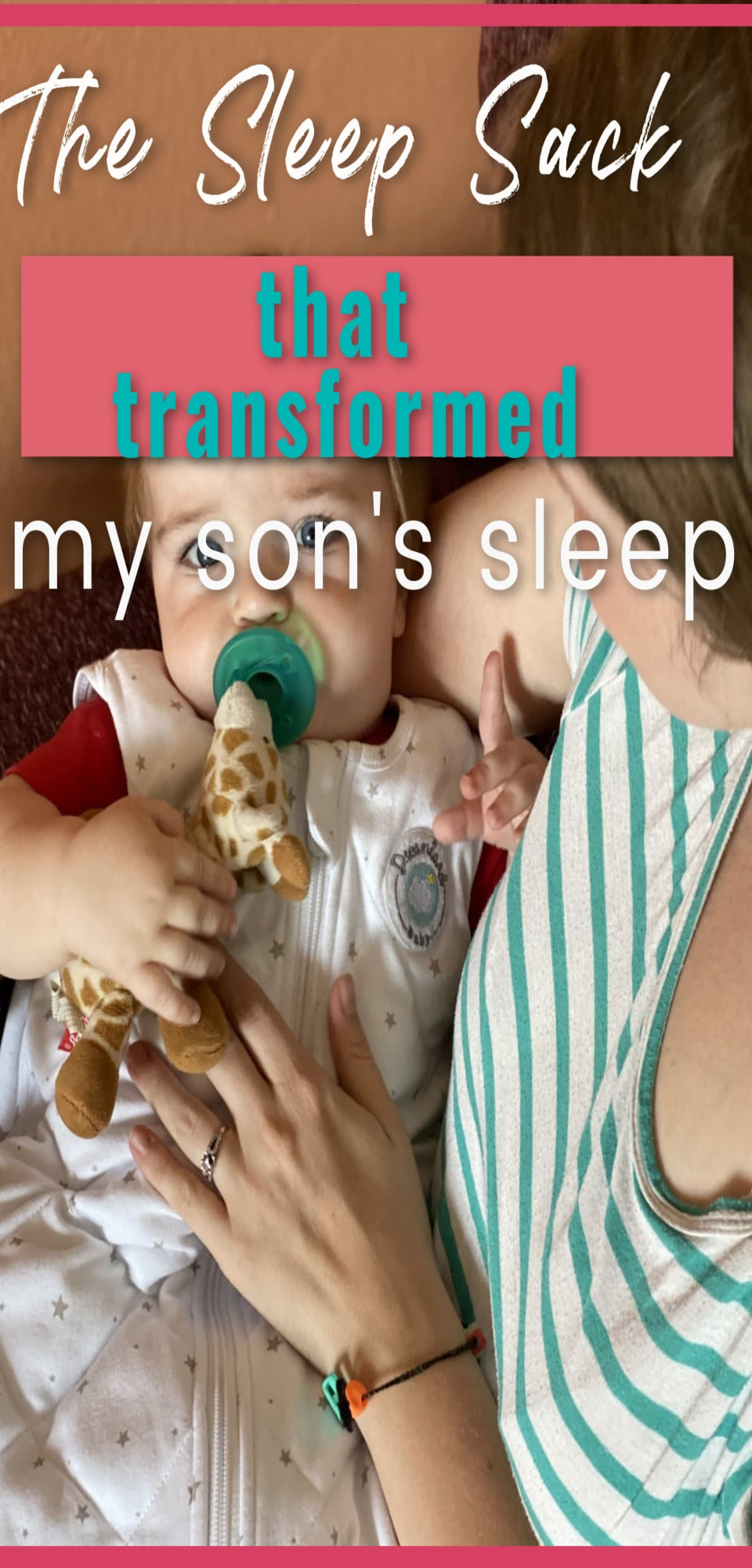 Struggling with your infant's sleep? Here is the best baby sleep product I have bought with my son! via @clarkscondensed