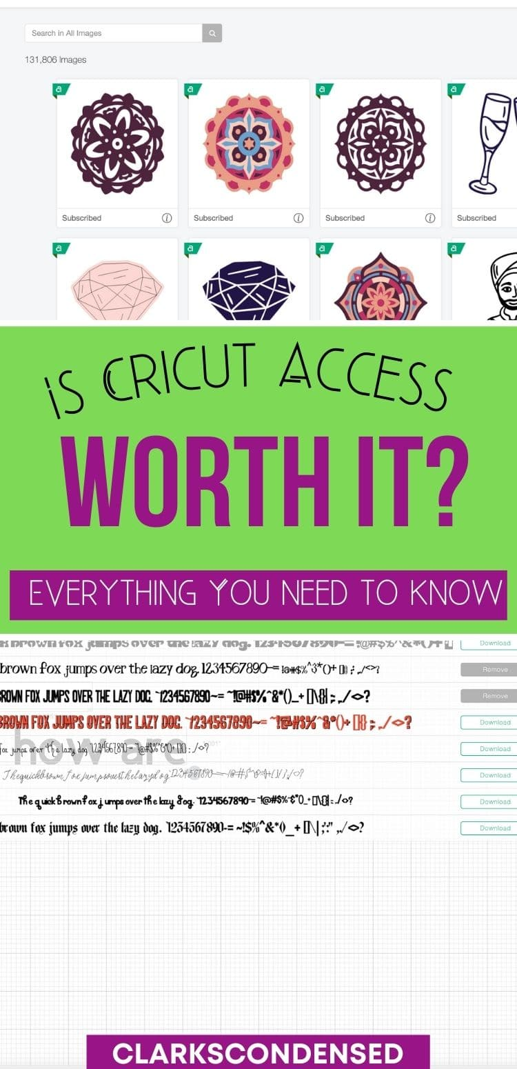Cricut Tips / Cricut Access / Cricut Explore / Cricut Explore 1 / Cricut Explore 2 / Cricut Machine / Cricut Ideas via @clarkscondensed