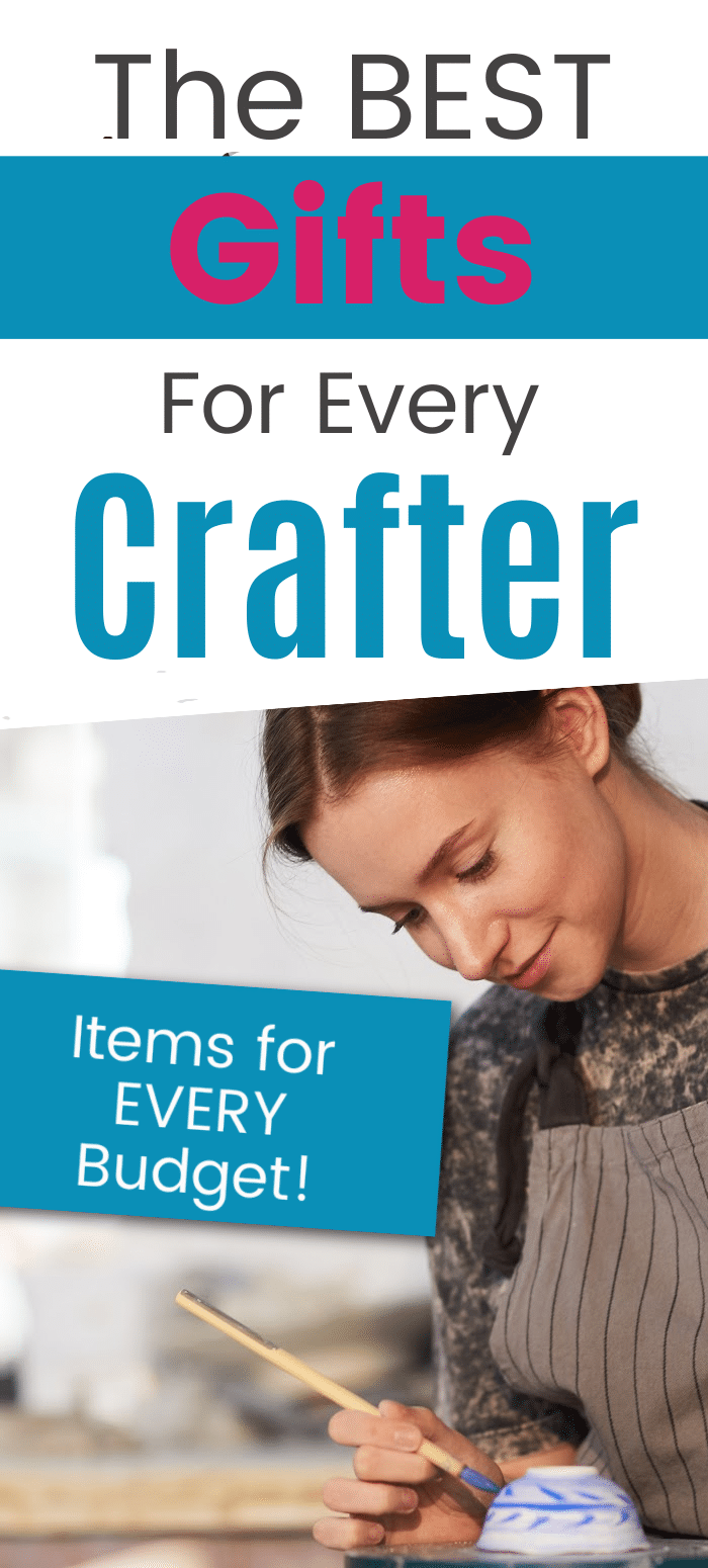 Looking for a gift for the crafter in your life? Then you are in the right place! Here is the ultimate lift of gifts ideas for a craft-a-holic - there's something for every budget! via @clarkscondensed