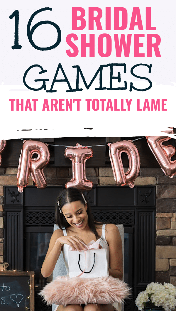 Finding ideas for bridal shower games is easier said than done. If you are looking for games that are easy, inexpensive and, most importantly, not cheesy - you're in the right place. #bridalshowergames #bridalshower #bridalshowerideas via @clarkscondensed