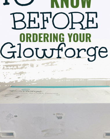 buying a glowforge