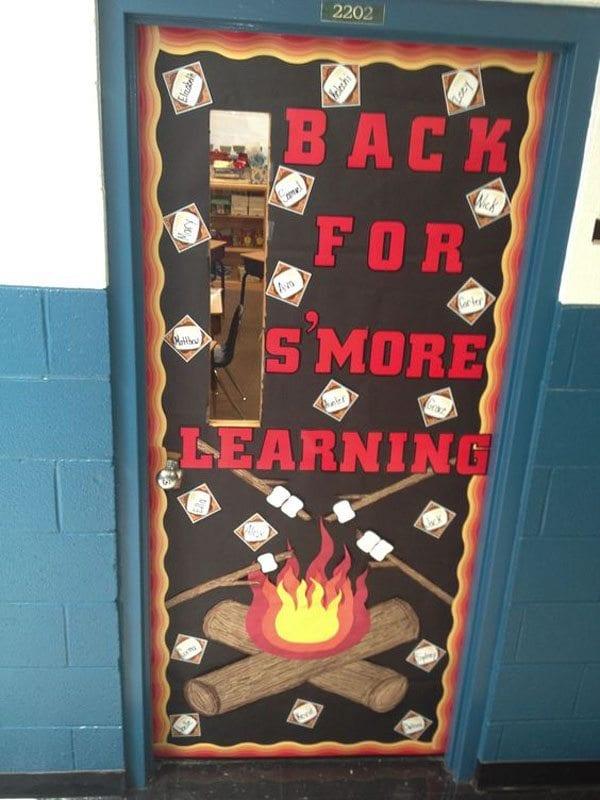 s'more classroom door