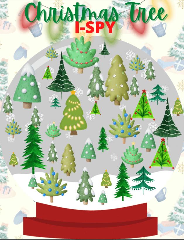 "<span itemprop=""name"">Christmas Tree I-Spy</span> via @clarkscondensed"