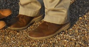 Clarks Desert Boots in Champs Eylesses Paris