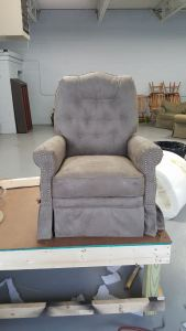 Custom Upholstered Easy Chair | Commissioned