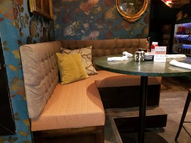 Custom Upholstered Booth Seat (Seat Only)   Toast Birmingham