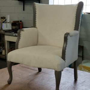Custom Accent Chair | Commissioned