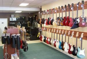 Clark's Music Center Jacksonville Florida Guitars