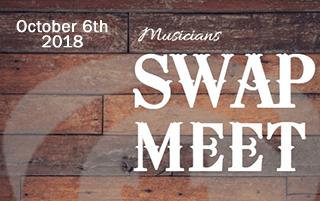 Musician's Swap Meet October 2018