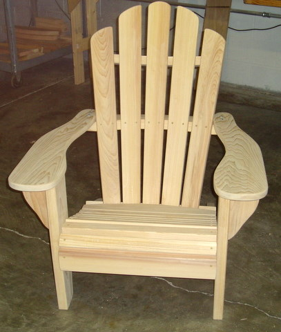 Katelyn Cypress Adirondack Chair