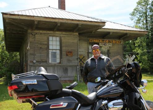 Hank Bonecutter Motorcycle