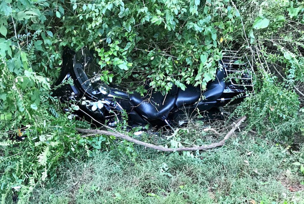 Hank Motorcycle Wreck