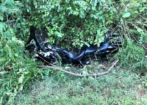 Hank Motorcycle Wreck