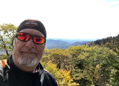 Hank Motorcycle Mountains