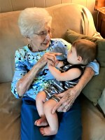 Grandma And Great Grandson