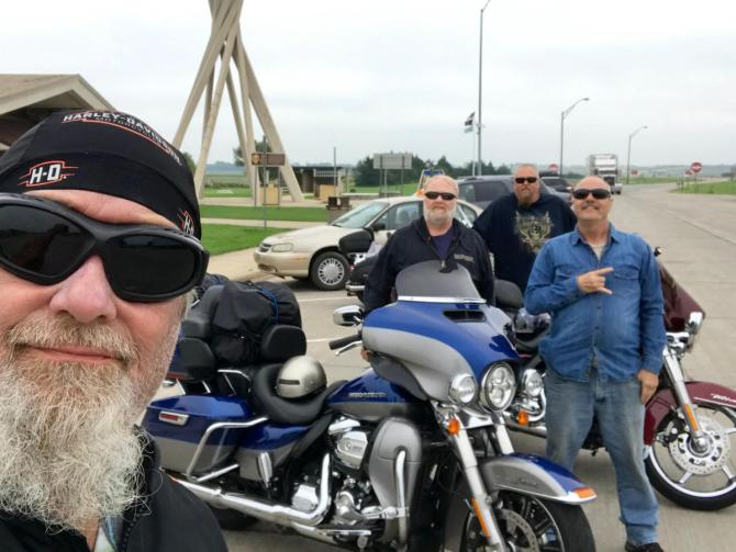Hank Sturgis Motorcycle