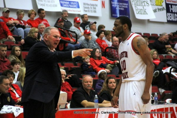 Austin Peay Governors Basketball beats Berea College 108 ...