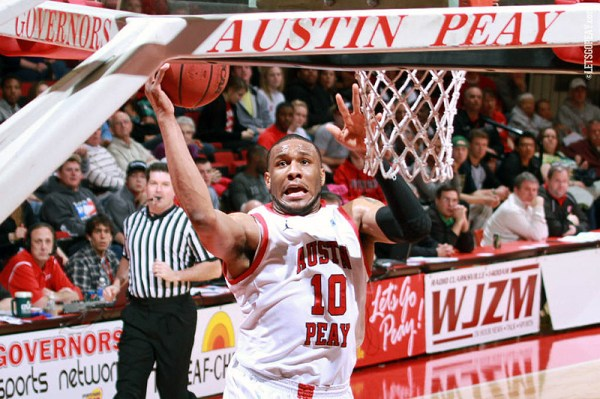 Austin Peay's Anthony Campbell, Will Triggs celebrate ...