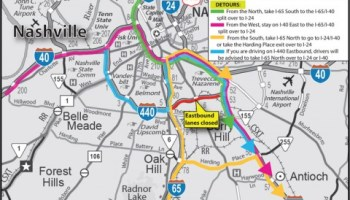 TDOT Confirms Emergency Repairs for I-24 in Clarksville this Weekend ...