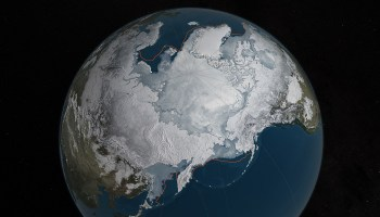 NASA reports Winter Arctic Sea Ice growth hits all time low