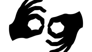 Adult sign language