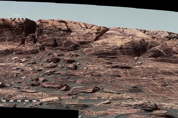 NASAs Mars Curiosity Rover begins climbing Vera Rubin