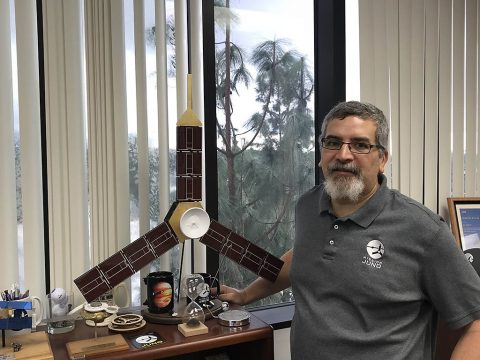Juno's new project manager is Ed Hirst of NASA's Jet Propulsion Laboratory, Pasadena, California. (NASA/JPL-Caltech)