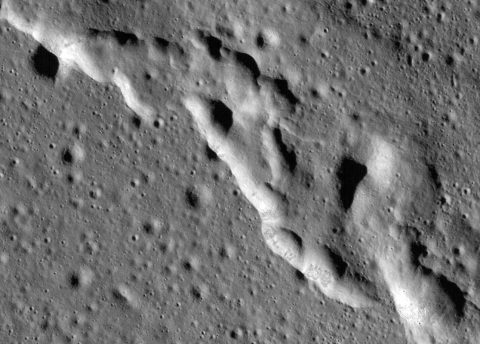 NASA study reveals Earths Moon has active changing