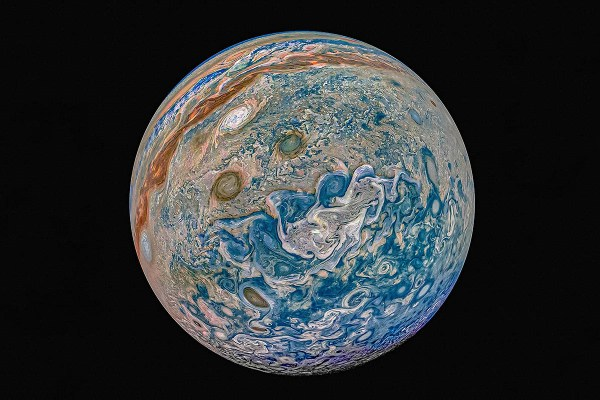 NASA's Juno Spacecraft discovers new Cyclone on Jupiter ...