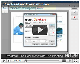 Watch the ClaroRead Pro Overview Video