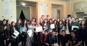 I liceo galilei ritira il premio a Cesena