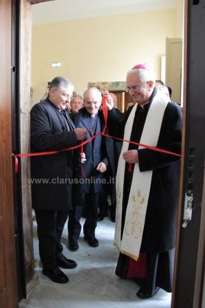inaugurazione tribunale interdiocesano teano