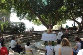 Lago di Tiberiade / Primato di Pietro. Mons. Di Cerbo presiede la messa