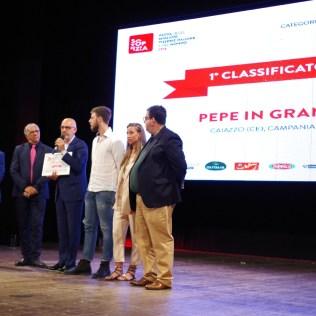 Franco Pepe ritira il riconoscimento