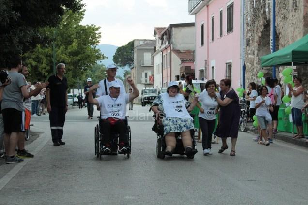 All'arrivo Pietro Natale, presidente ANIEP Alife e Adele Di Gioia, presidente ANIEP Casagiove