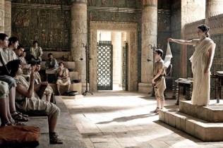 """la vita di Ipazia di Alessandria, in forma romanzata è raccontata nel film """"Agorà"""" del 2009 diretto da Alejandro Amenábar. Nelle vesti della protagonista l'attrice Rachel Weisz"""