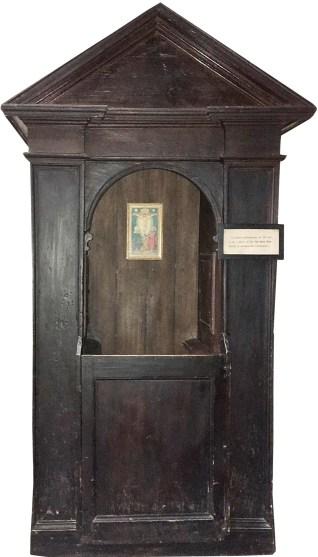 Il confessionale di Santa Maria Maggiore