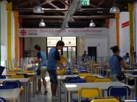 La Mensa Caritas a Roma