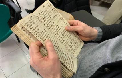 Antichi libri contabili per il prestito dei semi