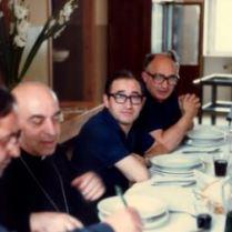 Con Mons. Campagna i nostri sacerdoti diocesani don Domenico La Cerra (nella foto a sinistra) e don Alfonso De Balsi (a destra)