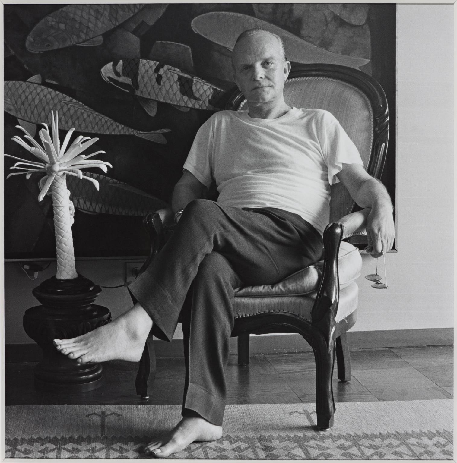 Truman Capote 1981 by Robert Mapplethorpe 1946-1989