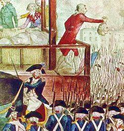 Revolución francesa y guillotina