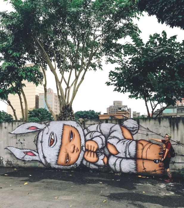 Huashan 1914 Creative Park - Graffiti 1