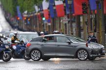 François Hollande se ha decidido por un Citroën DS5 para el acto de investidura como Presidente de Francia.