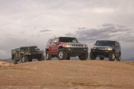 Los Hummer, auténtica revolución en el segmento de los 4x4 de altas prestaciones.