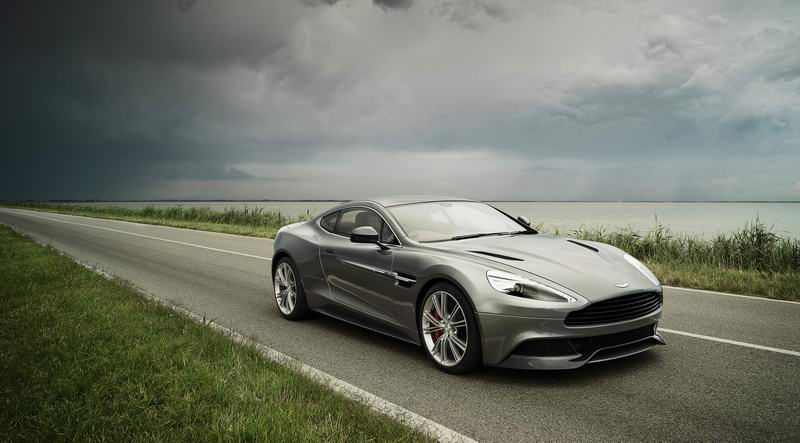 Aston Martin Unveils Its New Hero The Vanquish