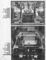 Fabricación del Citroën GS en Vigo.