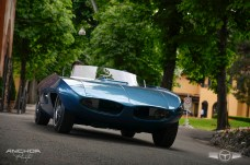 Otro maravilloso prototipo, el Pontiac Vivant 77 de 1965.